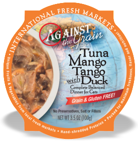 Tuna Mango Tango with Duck