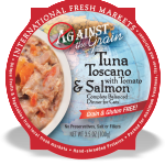 Tuna Toscano with Salmon & Tomato